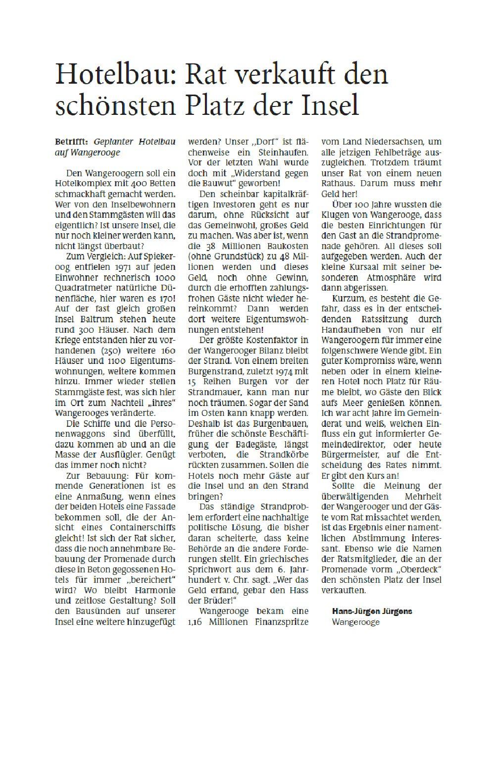 Jeversches Wochenblatt 30.09.2020 II