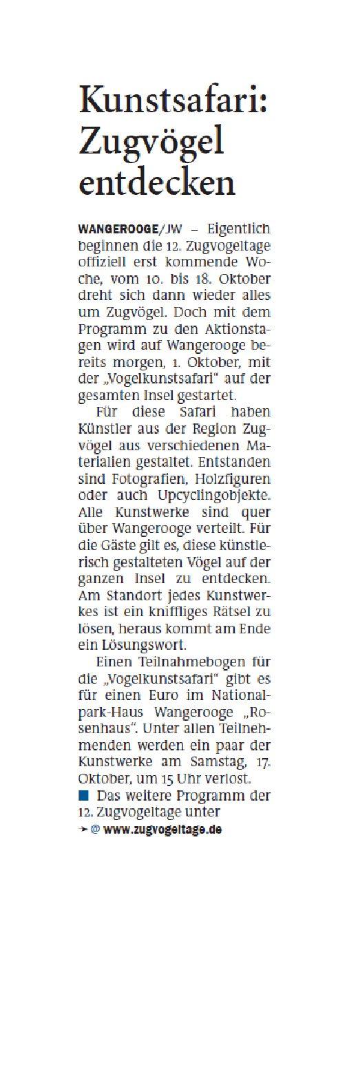 Jeversches Wochenblatt 30.09.2020 III