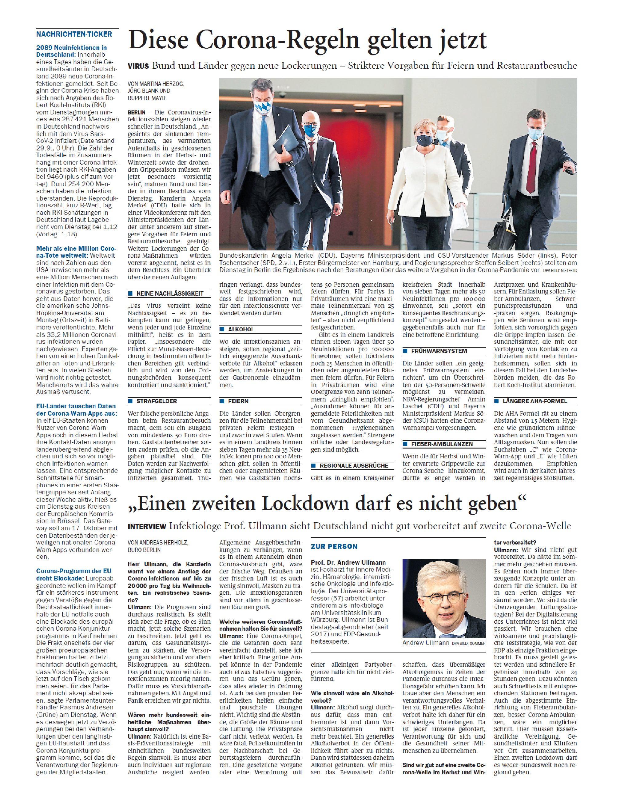 Jeversches Wochenblatt 30.09.2020 VII