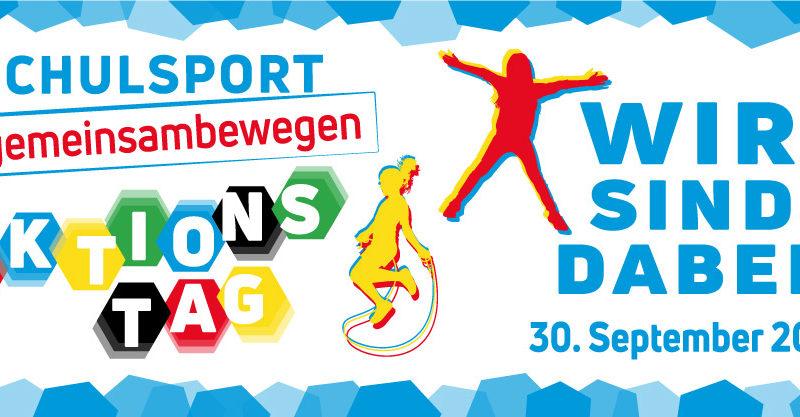 Bundesweiter Aktionstag am 30. September: 235.000 Schülerinnen und Schüler setzen Zeichen für den Schulsport