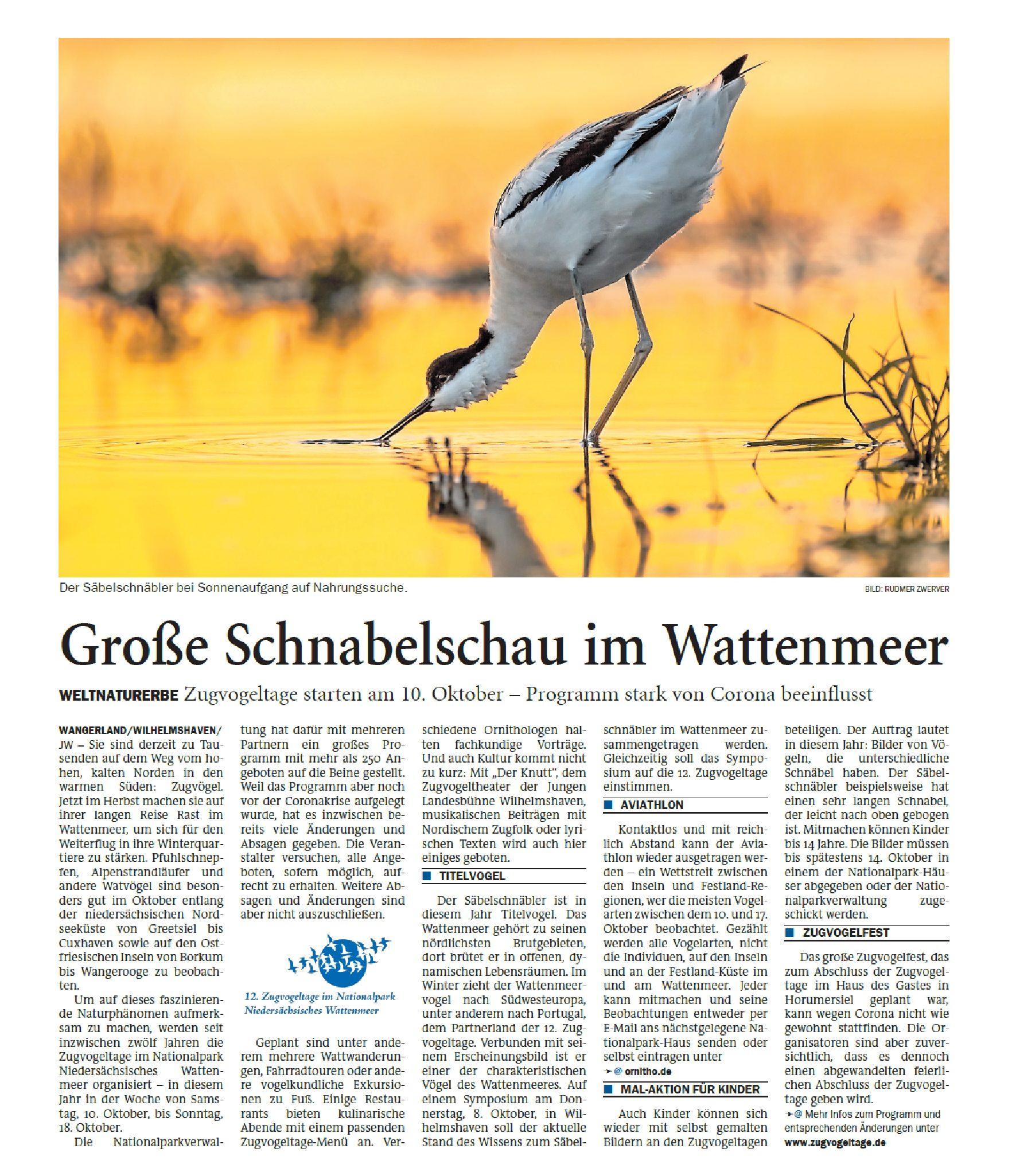 Jeversches Wochenblatt 01.10.2020 II