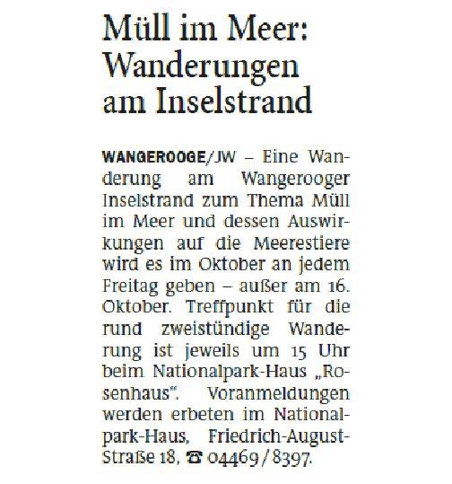 Jeversches Wochenblatt 01.10.2020