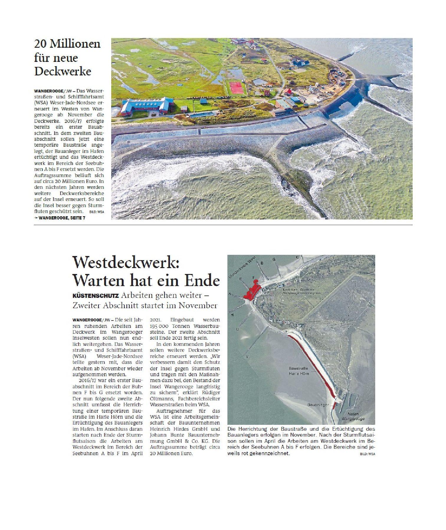 Jeversches Wochenblatt 20.10.2020 II