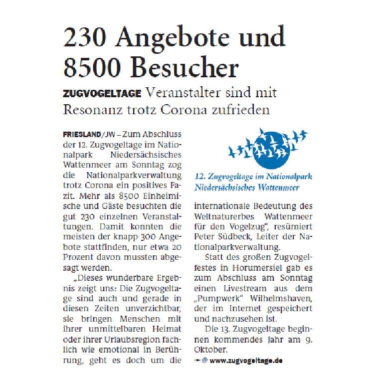 Jeversches Wochenblatt 20.10.2020 III