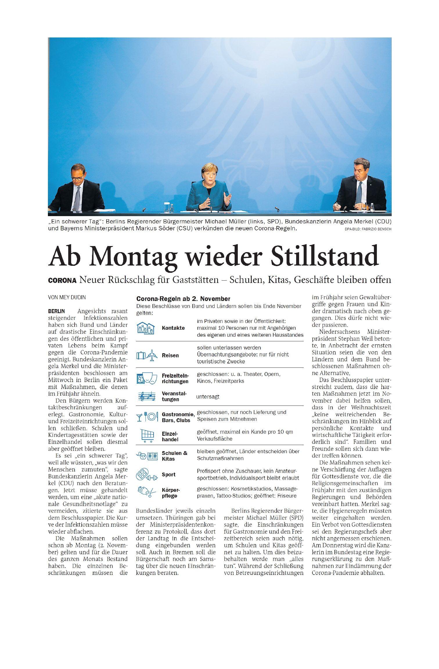 Jeversches Wochenblatt 29.10.2020 III