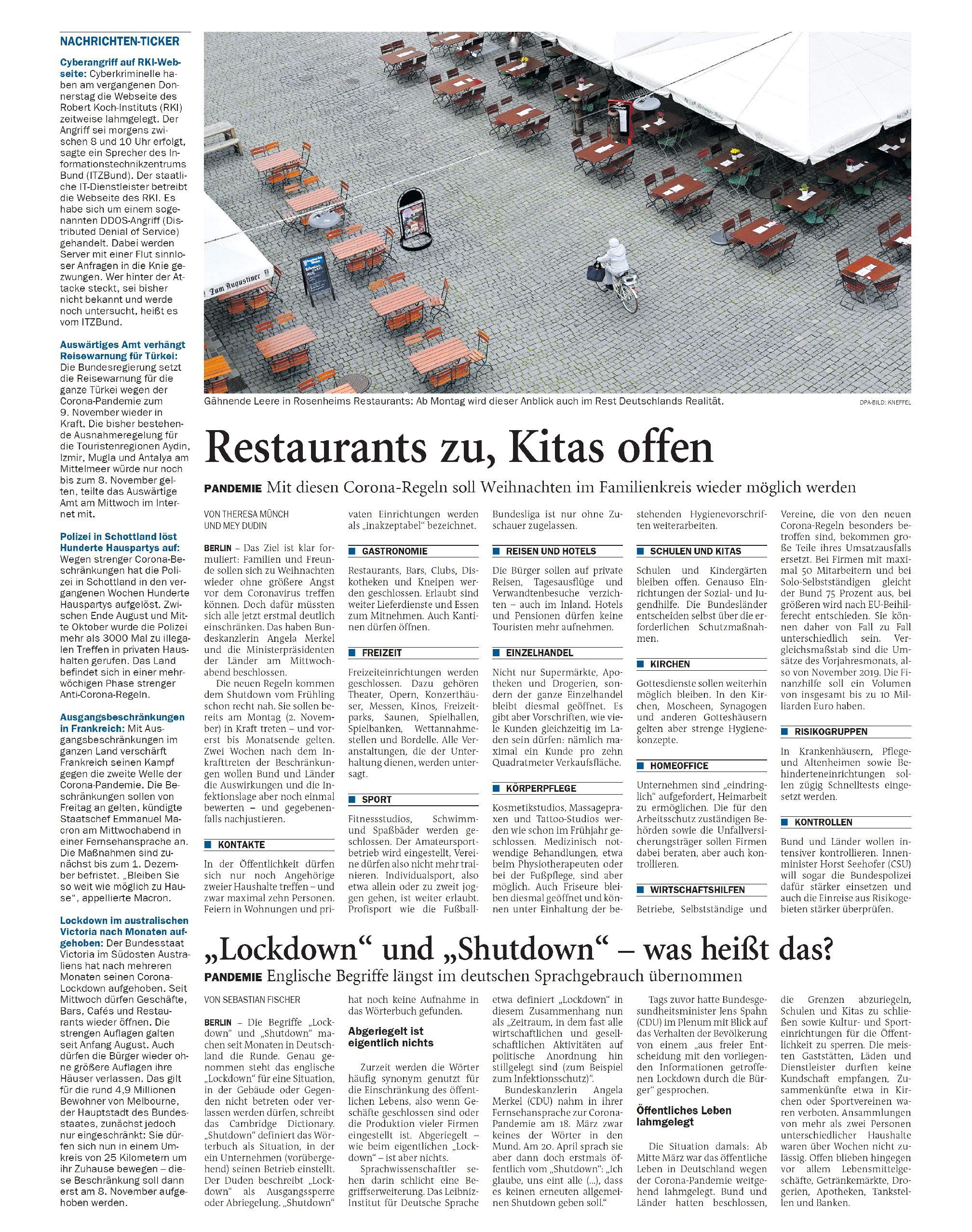 Jeversches Wochenblatt 29.10.2020 IV