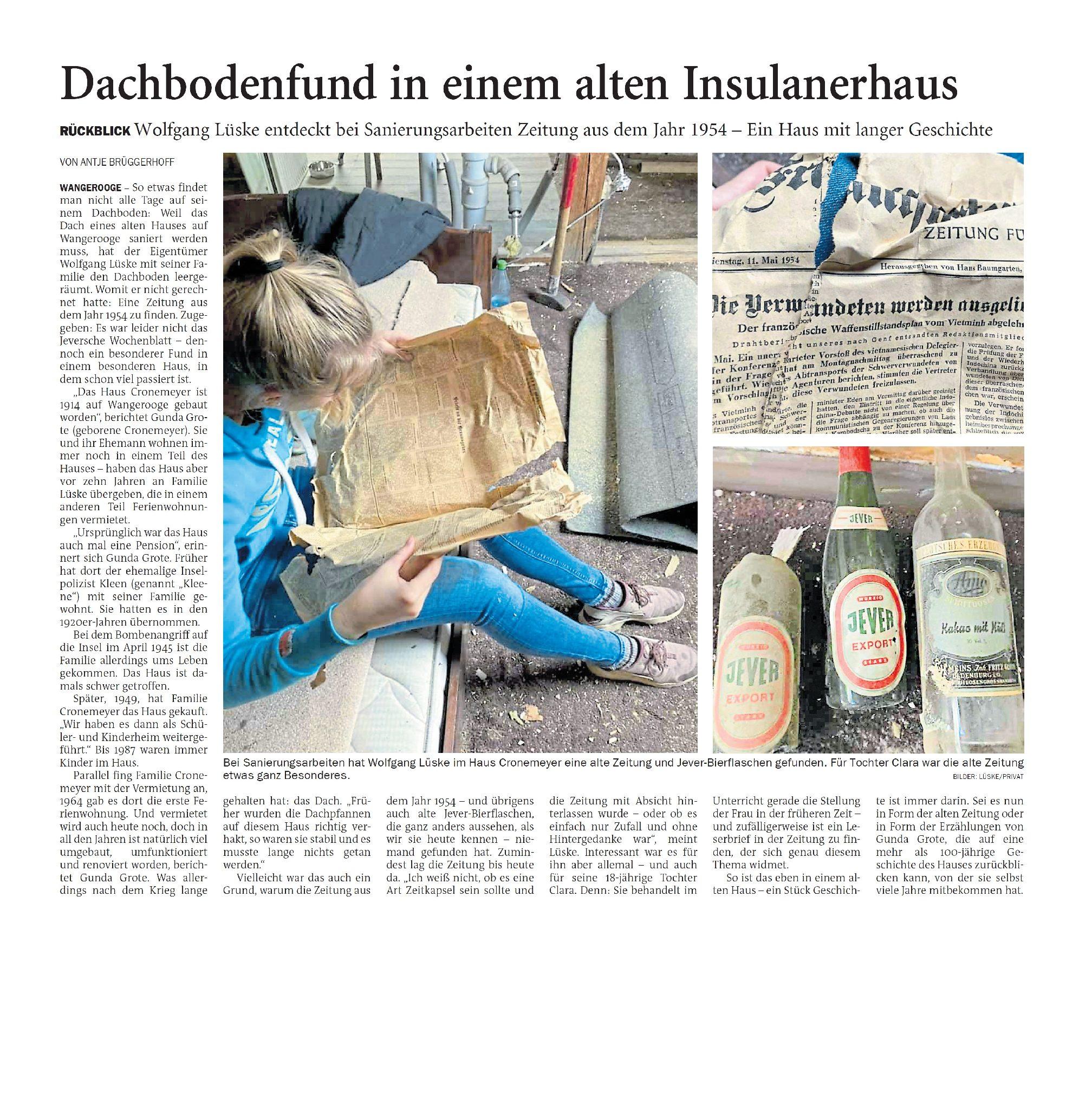 Jeversches Wochenblatt 30.10.2020 III