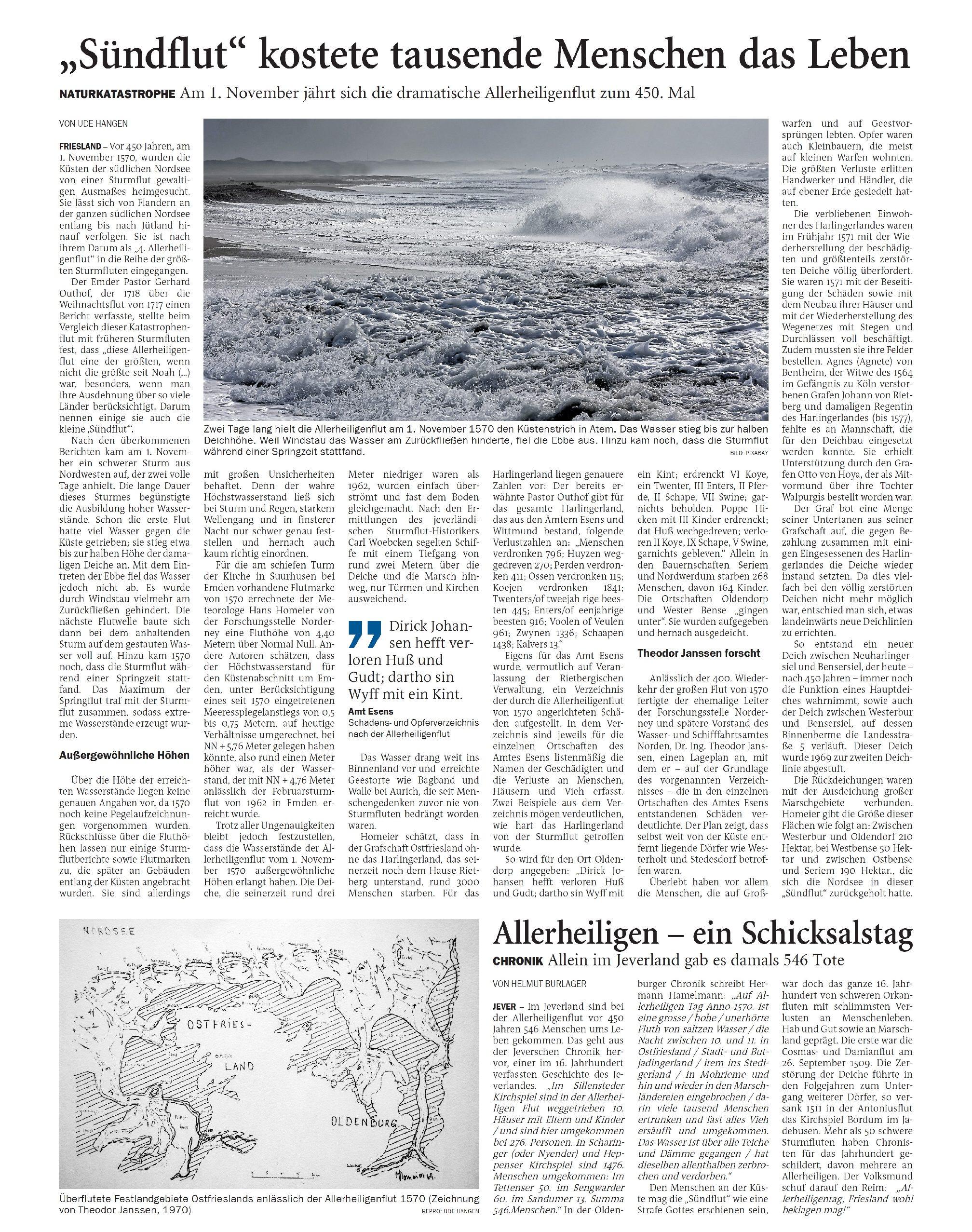 Jeversches Wochenblatt 30.10.2020 IV