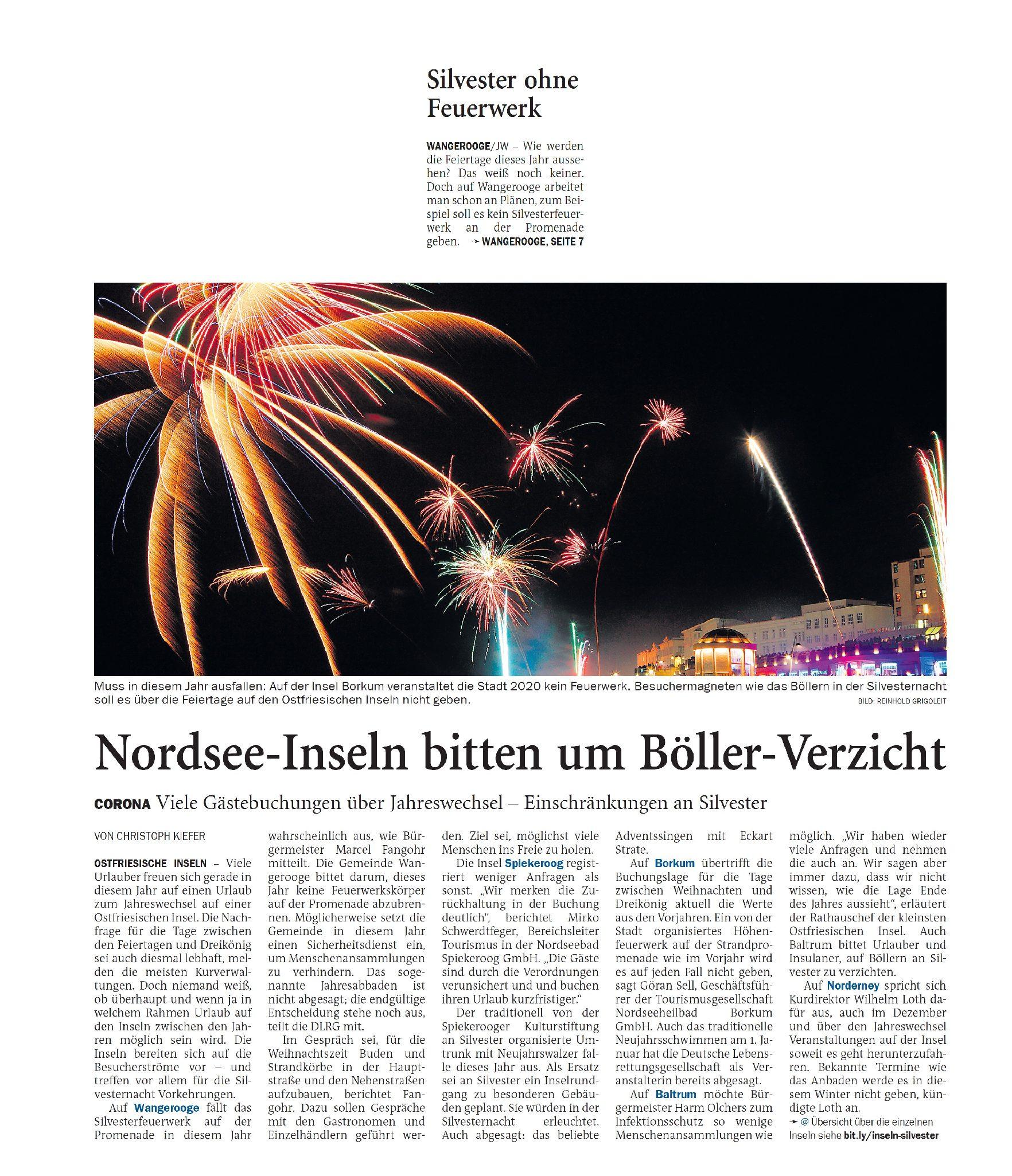 Jeversches Wochenblatt 17.11.2020 II