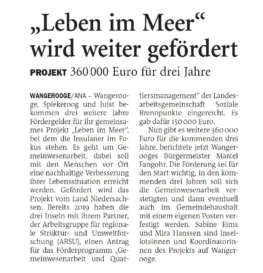 Jeversches Wochenblatt 28.11.2020 IV