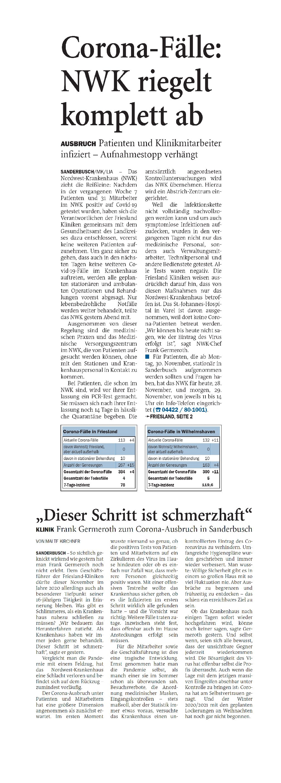 Jeversches Wochenblatt 28.11.2020