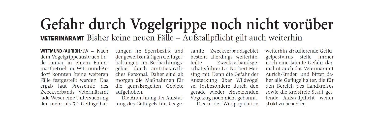 Jeversches Wochenblatt 22.02.2021 II