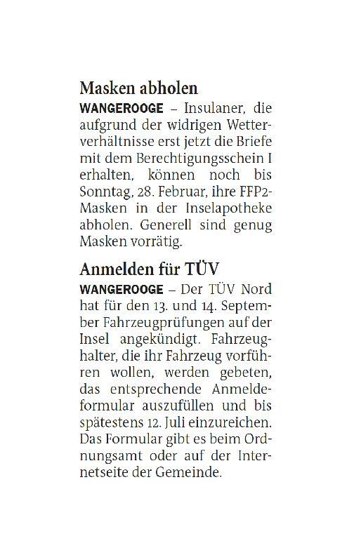 Jeversches Wochenblatt 25.02.2021 II