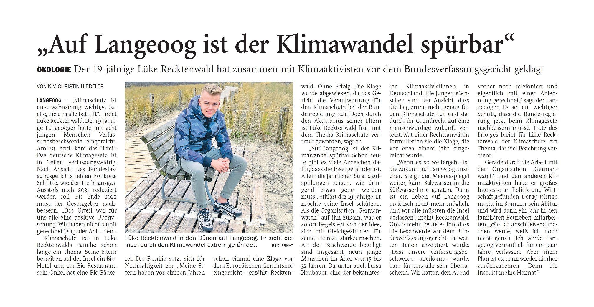 Jeversches Wochenblatt 07.05.2021 IV