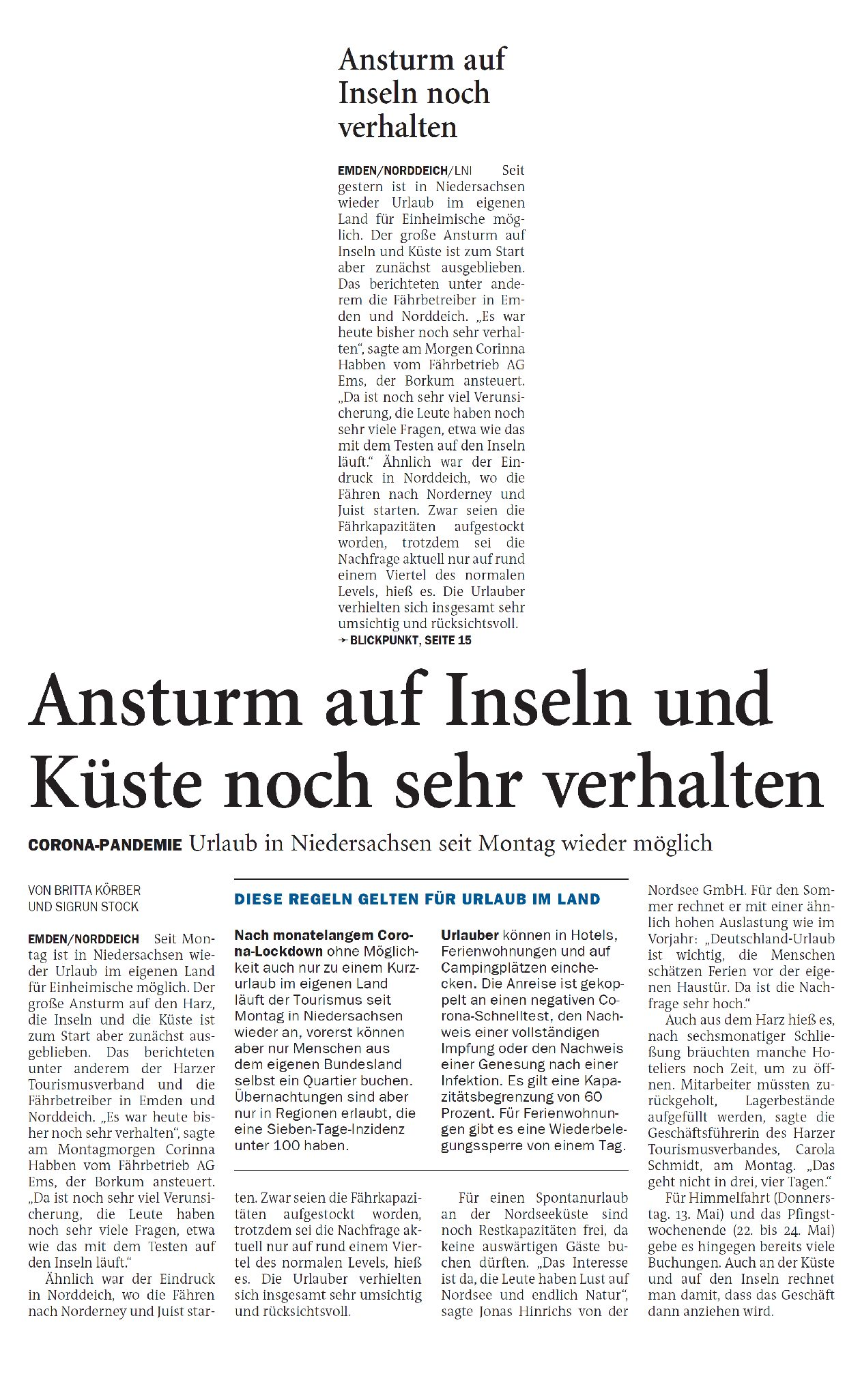 Jeversches Wochenblatt 11.05.2021 III