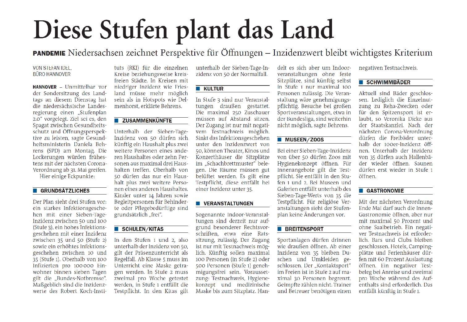 Jeversches Wochenblatt 11.05.2021 IV