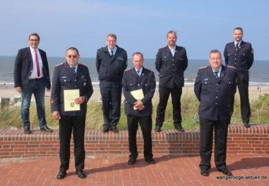 20.06.2021 Jahreshauptversammlung der Freiwilligen Feuerwehr Wangerooge