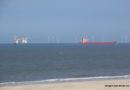 04.07.2021 Plattform JB 119 eingesetzt zur Munitionsbergung im Jadefahrwasser nordöstlich vor Wangerooge