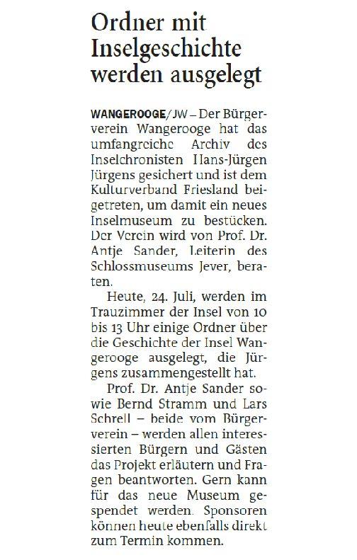 Jeversches Wochenblatt 24.07.2021 III