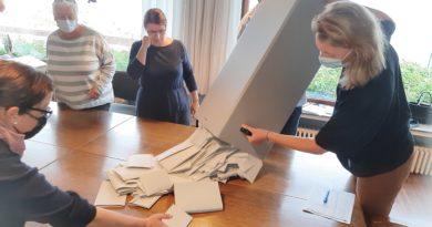 26.09.2021 Ergebnis Bundestagswahl auf Wangerooge