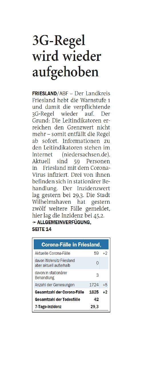 Jeversches Wochenblatt 23.09.2021