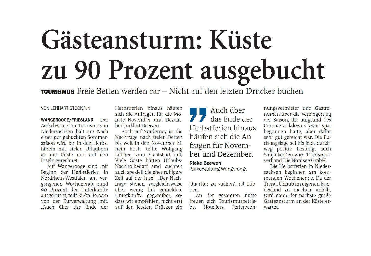 Jeversches Wochenblatt 12.10.2021