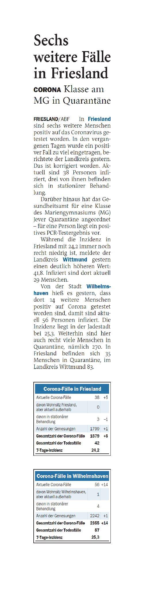 Jeversches Wochenblatt 14.10.2021